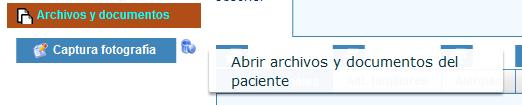 Gestión de archivos y documentos de pacientes en historias clinicas